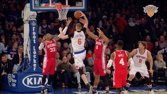 Top 5 Plays of the Week: Porzingis' Dream Shake, Melo's Quick Step, Williams' And-1, and More!