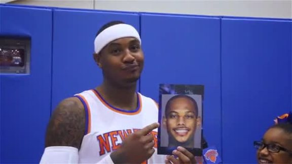 Knicks Kid Reporters presented by Hi-Chew: Face Mashup