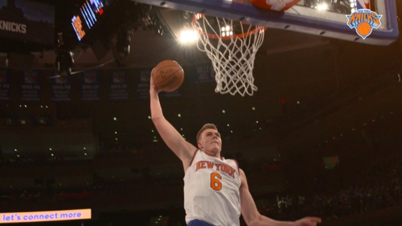 Highlights: Kristaps Porzingis Heads To The 6, Joins The World Team