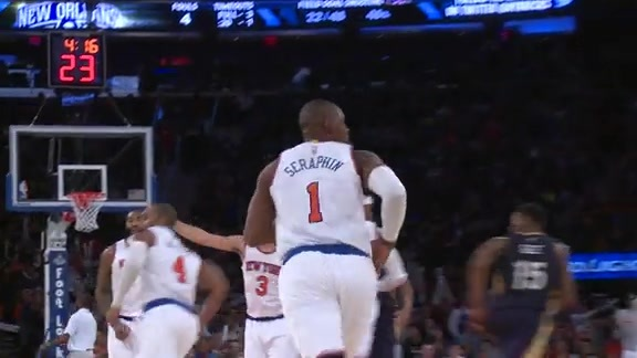 My Number presented by New York Lottery: Kevin Seraphin