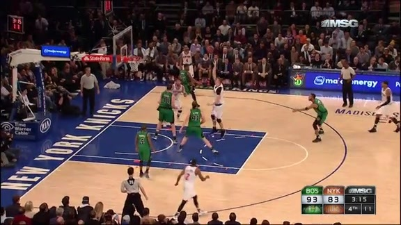 NYK vs BOS Postgame: Foxwoods Final 5 Moment
