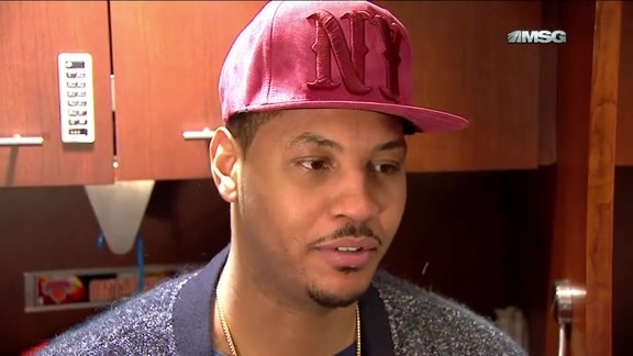 NYK vs BOS Postgame: Melo On Knicks Issues Against Celtics