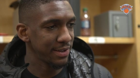 NYK @ DET Postgame: Inside The Knicks Locker Room