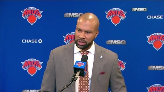 NYK vs DEN Postgame: Fisher Following Narrow Defeat