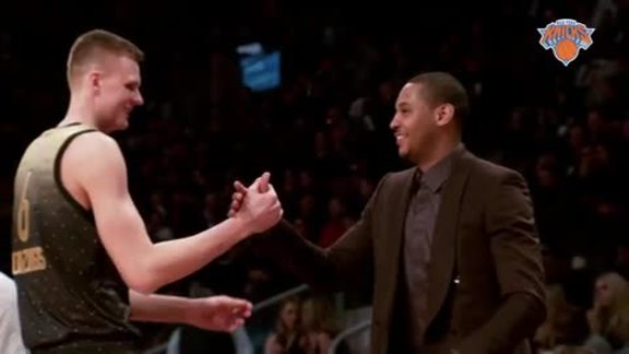 All-Star All-Access: Melo and Porzingis Rep The Knicks In Toronto