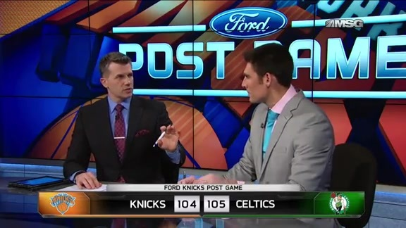 NYK @ BOS Postgame: MSG Network Highlights and Analysis