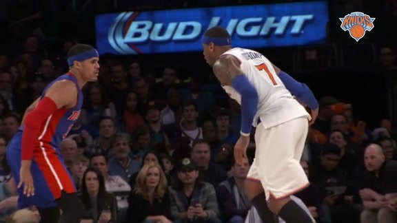 NYK vs DET Postgame: Courtside View Highlights