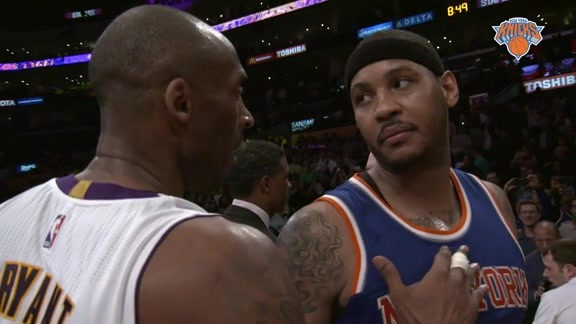 One Last Act: Melo vs Kobe Highlights