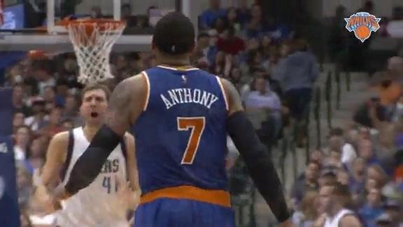 NYK @ DAL Postgame: Courtside View Highlights
