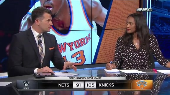 NYK vs BKN Postgame: MSG Network Highlights and Analysis