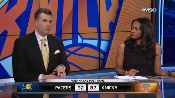 NYK vs IND Postgame: MSG Network Highlights and Analysis