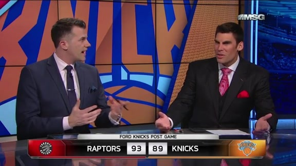 NYK vs TOR Postgame: MSG Network Highlights and Analysis