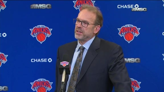 NYK vs TOR Postgame: Rambis Reacts To Grant's Performance