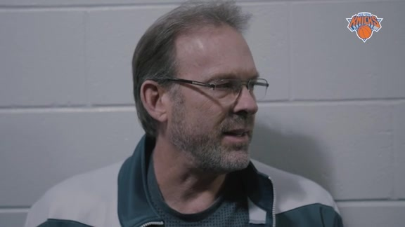 NYK @ IND Shootaround: Rambis Assess Knicks and Porzingis