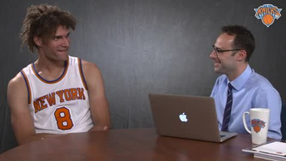 Speed Drills with Robin Lopez: George Clooney Taunts, Favorite Disney Film, and More!