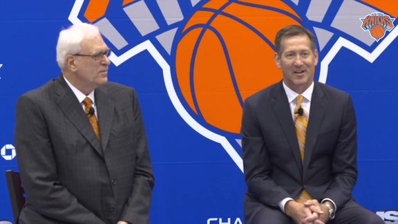 Knicks Introduce Jeff Hornacek as Head Coach