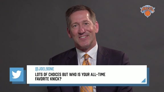#WelcomeJeff: Who is Your All-Time Favorite Knick?