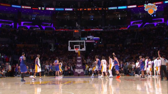 2015-16 Knicks Major Moment: Calderon's Game-Winner Spoils Kobe's Final Game vs NYK