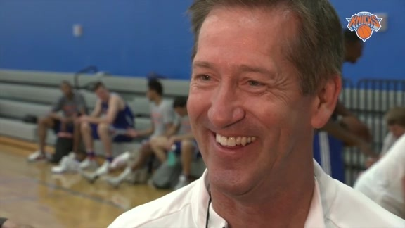 WED Summer League Practice: Hornacek On Free Agency, Coaches, and Visiting Melo