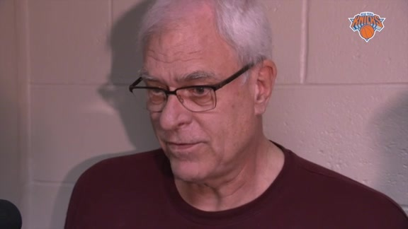 Phil Jackson on Free Agency and Knicks Needs