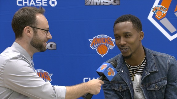 1-on-1 with Brandon Jennings: Opportunity to Shine, Porzingis' Swag, and Relationship With Rose