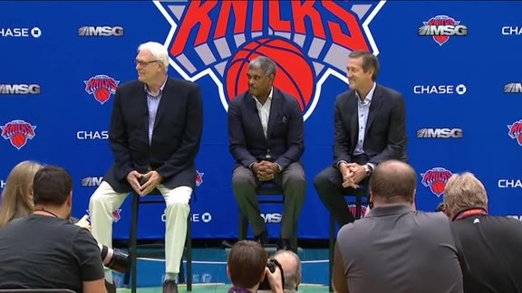 Phil Jackson On Acquiring Three New Free Agents
