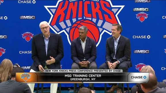 Phil Jackson Addresses Health Concerns For New Knicks