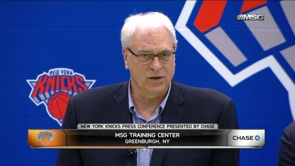 Phil Jackson on Building a Team For Melo's Prime