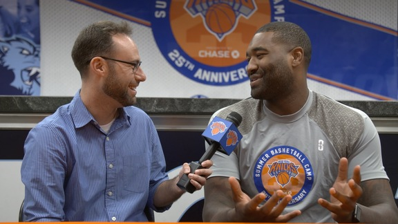 1-on-1 with Kyle O'Quinn: Visiting Porzingis, Reacting to New Knicks, and More