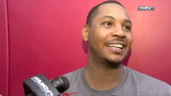 Melo On Team USA Training, Reasons For Returning, and Winning Gold