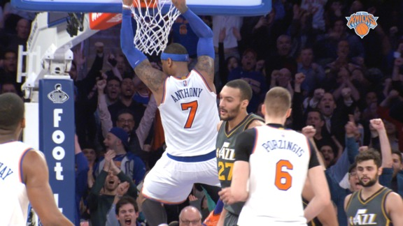 2015-16 Season In Review: Carmelo Anthony Highlights