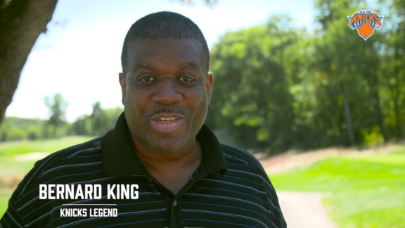 King, Houston, Starks, and the Knicks Hit the Links