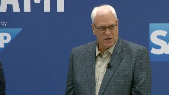 Phil Jackson, Jeff Hornacek, and Steve Mills Talk Rose, Melo, and Season Preview