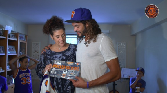 Joakim Noah Delivers an Unforgettable Moment for a Special Family