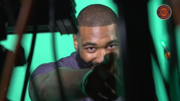 All-Access: Behind the Scenes with Kyle O'Quinn at Knicks Media Day