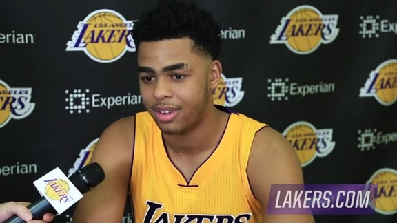 Media Day 1-on-1: D'Angelo Russell