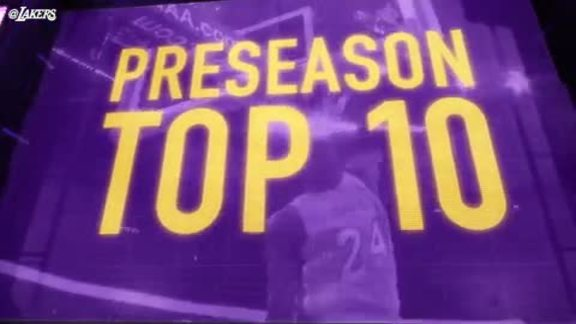 Top Ten Plays: Preseason