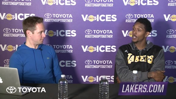 Lakers Voices: Lou Williams (11/18/15)