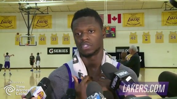 Practice: Julius Randle