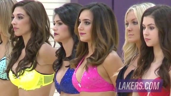 2015 Laker Girls Auditions - Final Round