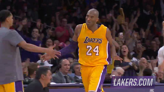 Postgame Report: Kobe Scores 38, Hits Clutch Shots In Win