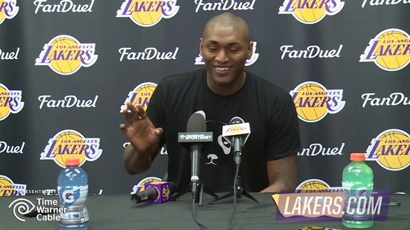 Exit Interview: Metta World Peace (4/14/16)