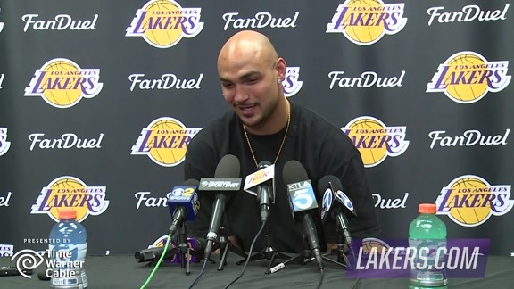 Exit Interview: Robert Sacre (4/14/16)