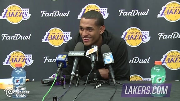 Exit Interview: Jordan Clarkson (4/14/16)