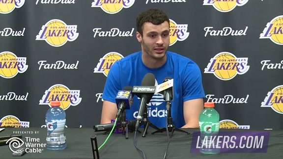 Exit Interview: Larry Nance Jr. (4/14/16)
