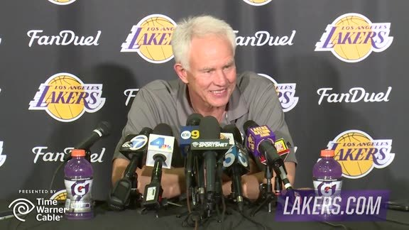 Mitch Kupchak Press Conference