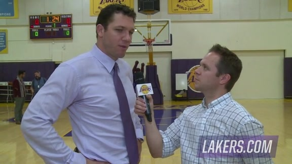 Luke Walton 1-on-1 (06/21/16)