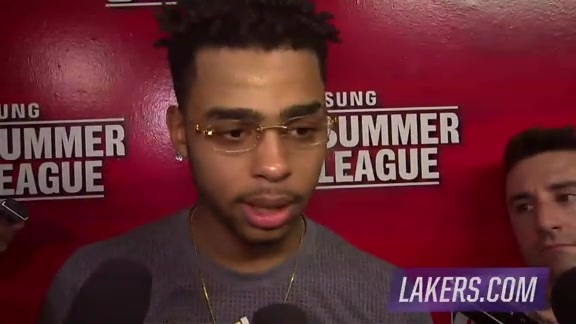 Postgame: D'Angelo Russell (7/9/16)