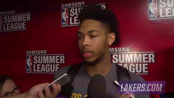 Postgame: Brandon Ingram (7/11/16)