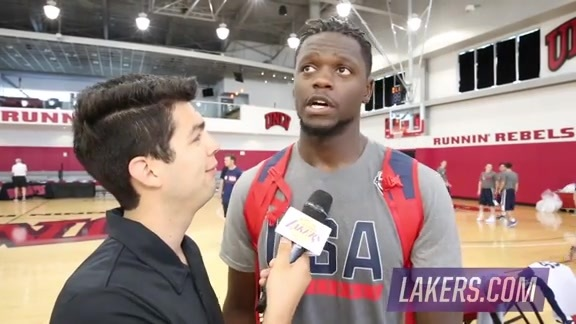 USA Select Team: Julius Randle (7/18/16)